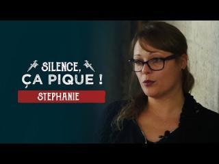 Embedded thumbnail for Silence, ça pique ! Stéphanie