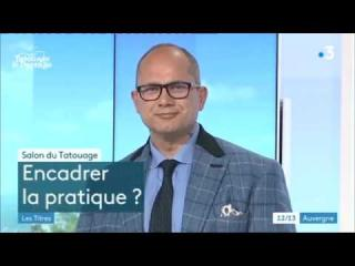 Embedded thumbnail for 21 septembre 2018 : l'intervention de Stéphane Chaudesaigues sur France 3 Auvergne