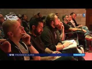 Embedded thumbnail for France 3 : le séminaire Tatouage & Partage au Palais des Papes